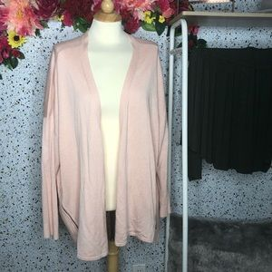 Lane Bryant blush cardigan size 22/24